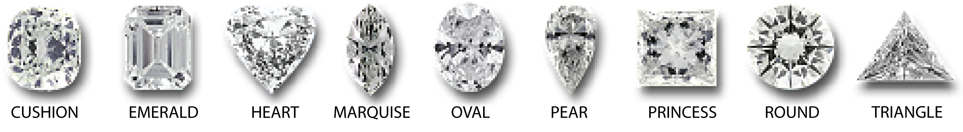 sample color ghi diamond glossary shapes different